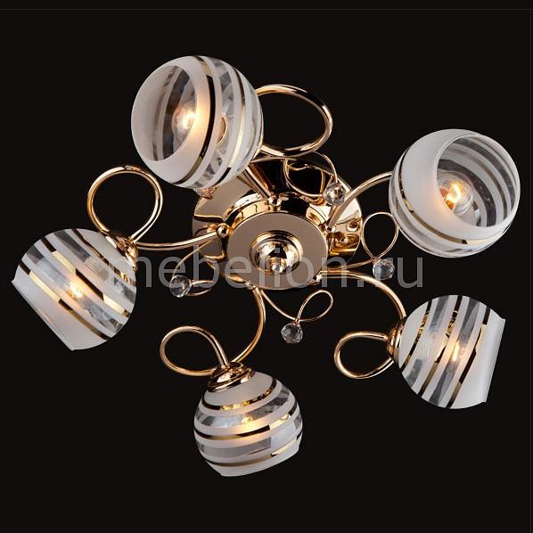 Потолочная люстра Eurosvet 9134/5 золото/белый 9134