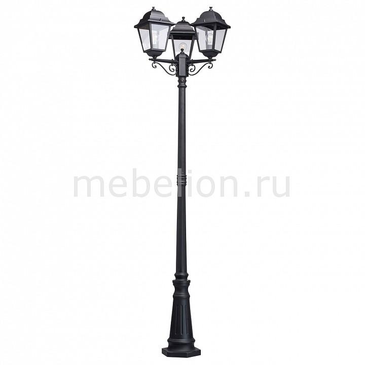Фонарный столб MW-Light Глазго 2 815041203 mw light садово парковый светильник mw light глазго 2 815041203