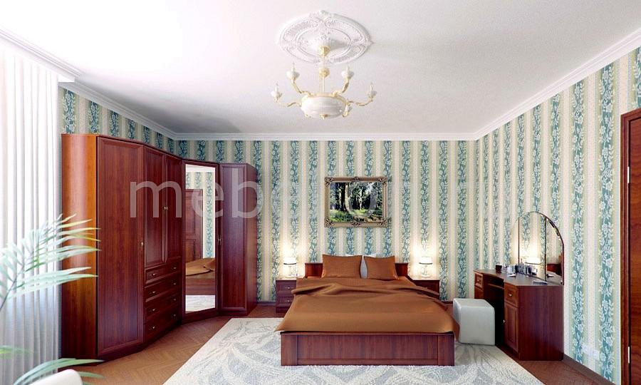 Гарнитур для спальни Юлианна 5 вишня барселона