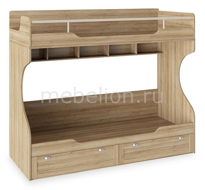 Кровать двуспальная Мебель Трия Ривьера ТД-241.11.01 комод ривьера