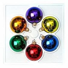 Набор из 6 елочных шаров (5 см) Светофорчик 860-294