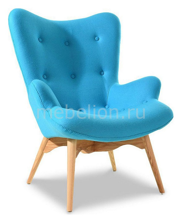 Кресло ESF DС-917 917 т голубой перл