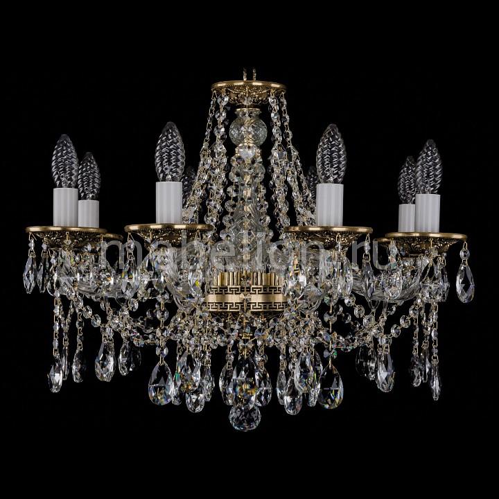 Подвесная люстра Bohemia Ivele Crystal 1613/8/200/GB 1613