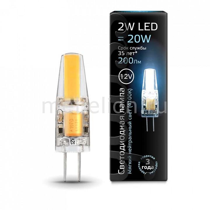 Лампа светодиодная Gauss 2077 G4 12В 2Вт 4100K 207707202