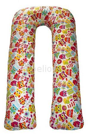 Подушка для беременных Relax-son (80x140x35 см) Совята подушка декор 43 43 см совята 1196735