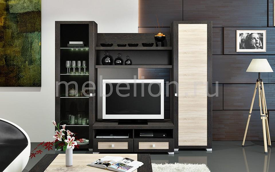 Стенка для гостиной Мебель Трия Фиджи ГН-153.005 мебель трия тетрис гн 154 003