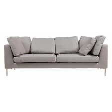Софа Charles Sofa Grande Light Grey  DG-F-SF343