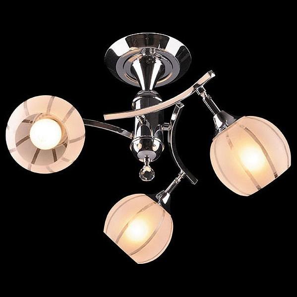 Светильник на штанге Eurosvet 3353-3457 3353/3 хром/белый