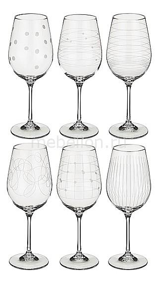 Набор для вина АРТИ-М из 6 шт. Виола микс 674-417