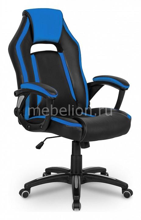 Кресло игровое Бюрократ CH-829/BL+BLUE компьютерное кресло бюрократ ch 827 bl blue black blue