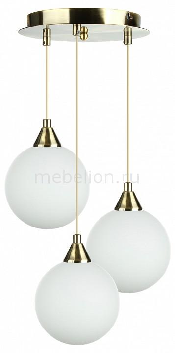 Подвесной светильник 33 идеи PND.101.03.01.AB+S.01.WH(3) подвесной светильник 33 идеи pnd 101 03 01 ab s 02 wh 3