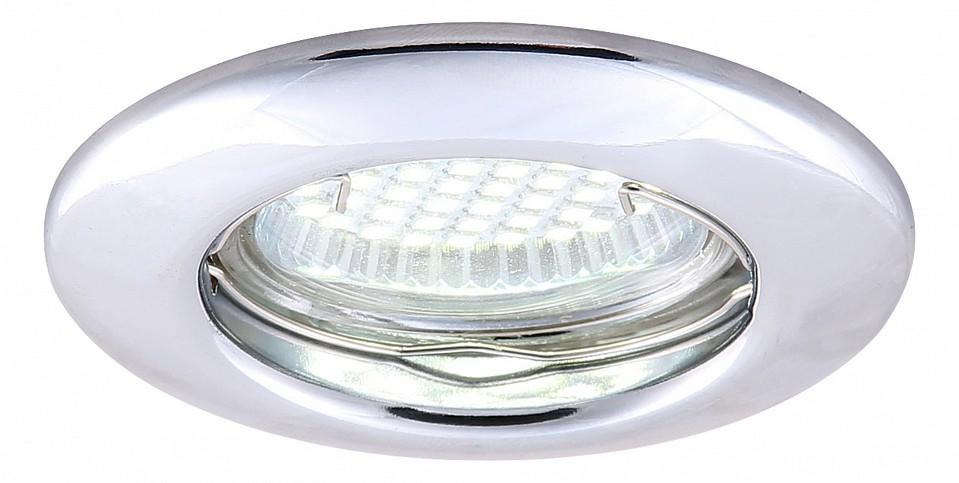 Встраиваемый светильник Arte Lamp Praktisch A1203PL-1CC встраиваемый точечный светильник коллекция led praktisch a2100pl 3wh белый arte lamp арте ламп