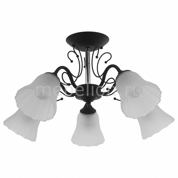 Люстра на штанге IDLamp 872 872/5PF-Argentoscuro бра idlamp lauretta 872 1a argentoscuro