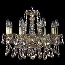 Подвесная люстра Bohemia Ivele Crystal 1413/8/165/G/M701 1413
