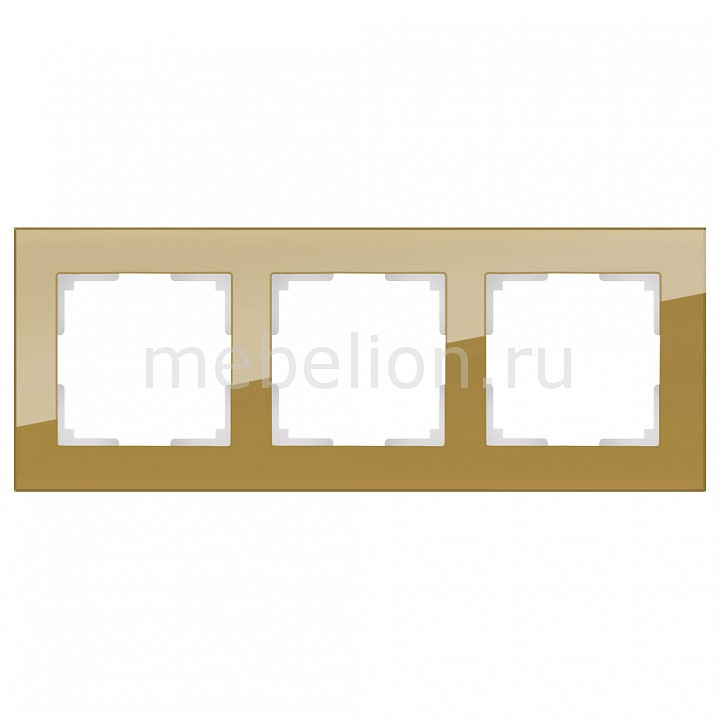 Рамка на 3 пост Werkel Favorit WL01-Frame-03 рамка favorit на 1 пост бронзовый wl01 frame 01 werkel 1209837