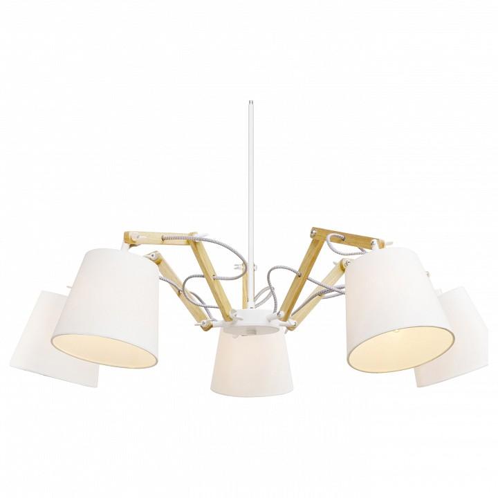 Подвесная люстра Arte Lamp Pinocchio A5700LM-5WH arte lamp a1743lm 5wh