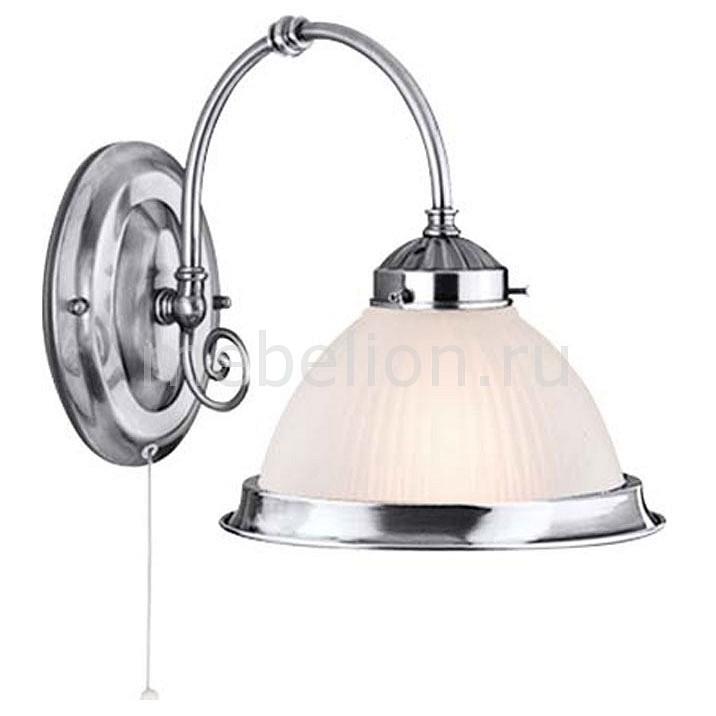 Бра Arte Lamp A9366AP-1SS American Diner