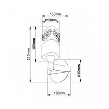 Бра Maytoni TOC003-01-R Eurosize 3