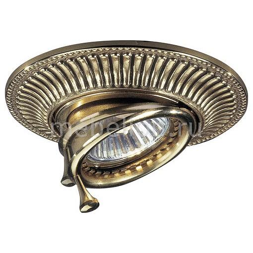 Встраиваемый светильник Reccagni Angelo SPOT 1082 ORO точечный поворотный светильник reccagni angelo spot 1082 oro