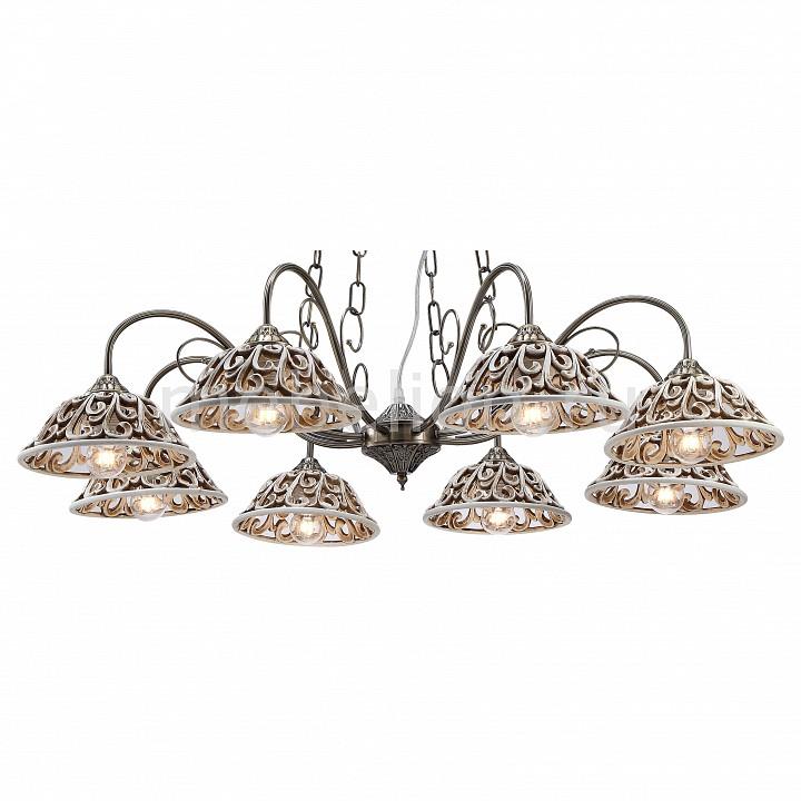 Подвесная люстра Arte Lamp Carved A5387LM-8AB