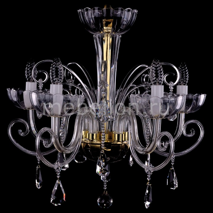 Подвесная люстра Bohemia Ivele Crystal 1333/5/240/G 1333