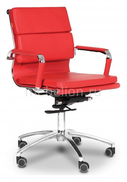 Кресло компьютерное Chairman 750 М красный/хром