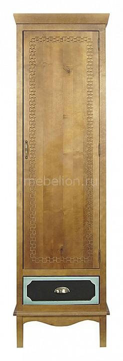 Шкаф для белья Этажерка Gouache Birch