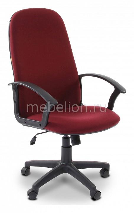 Кресло компьютерное Chairman Chairman 289 бордовый/черный