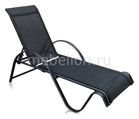 Шезлонг Рио-2А MC-3033/А черный mebelion.ru 5687.000