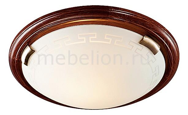 все цены на Накладной светильник Sonex Greca WOOD 160/K онлайн