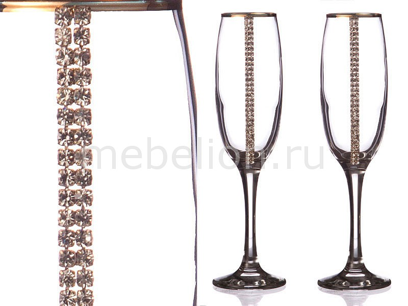Набор бокалов для шампанского АРТИ-М 802-510133 набор бокалов арти м набор из 6 бокалов виола микс 674 320