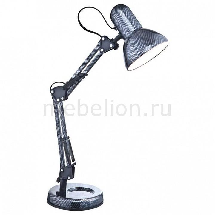 Настольная лампа офисная Globo Carbon 24892 настольный светильник globo carbon 24892