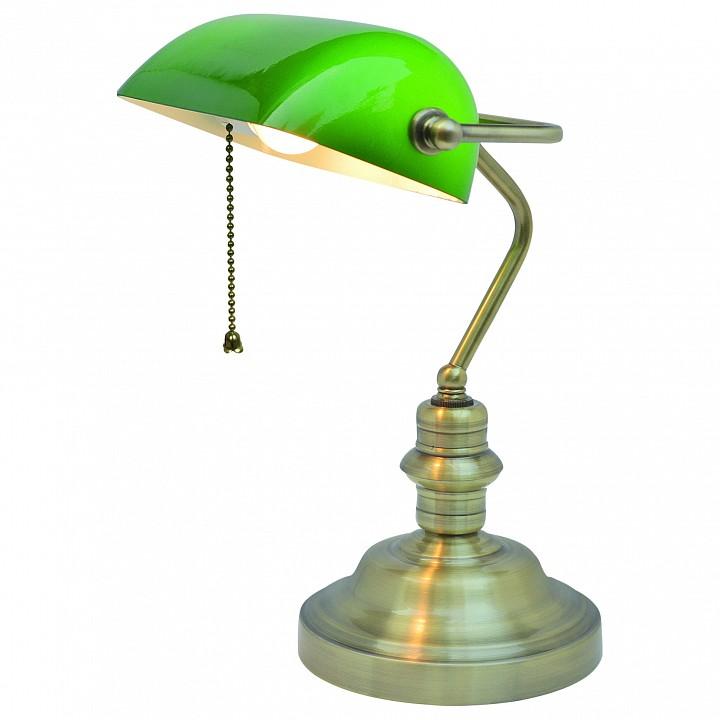 Настольная лампа офисная Arte Lamp Banker A2492LT-1AB настольная лампа офисная arte lamp banker a2493lt 1ab
