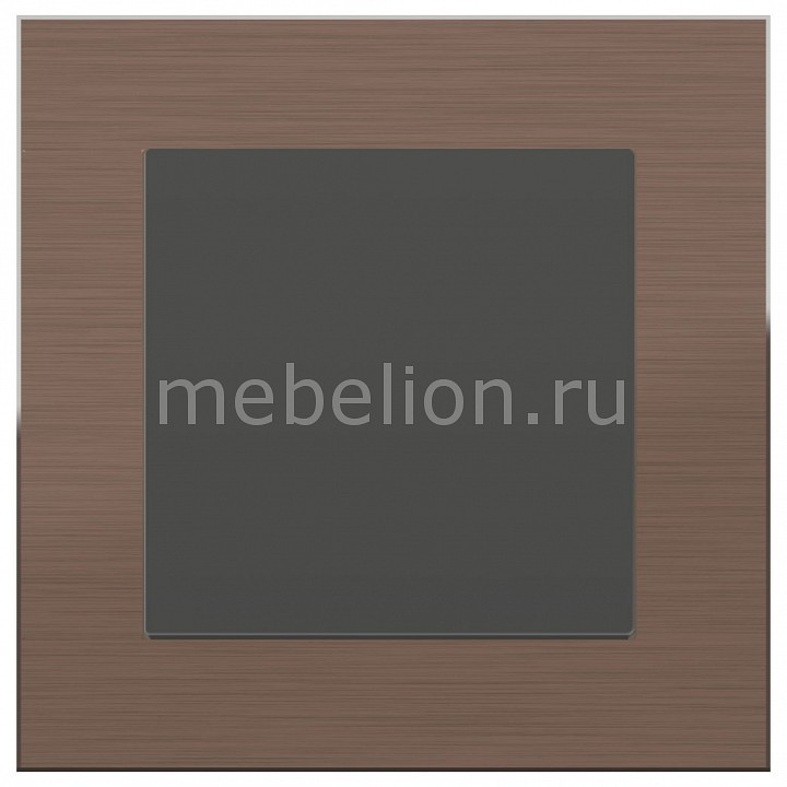 Выключатель проходной одноклавишный Werkel Aluminium (Серо-коричневый) WL07-SW-1G-2W-LED+WL07-SW-1G-2W free shipping modern led pendant light hanging lamp bulb included aluminium painted for living bed room 90 265v 2 pieces a lot