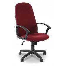 Кресло компьютерное Chairman 289 бордовый/черный