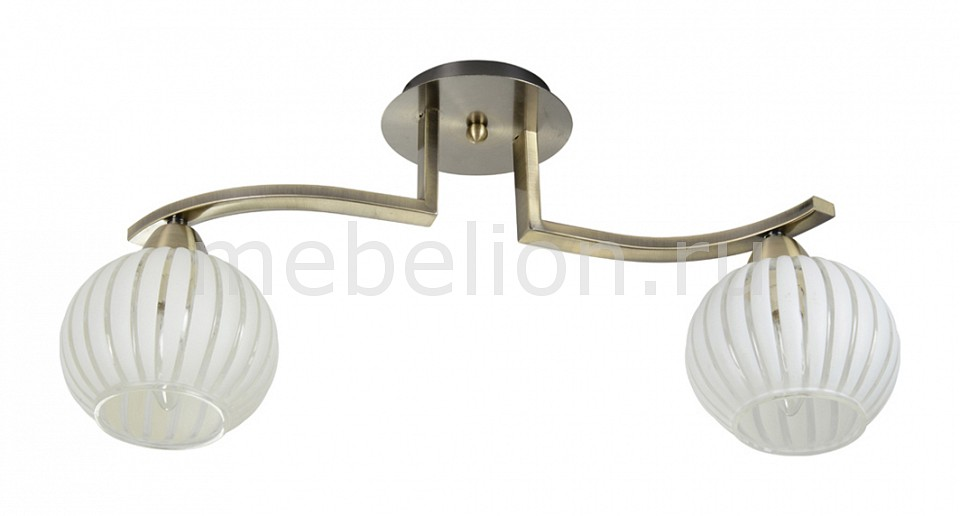 Светильник на штанге IDLamp 863 863/2PF-Oldbronze люстра idlamp 863 2pf oldbronze