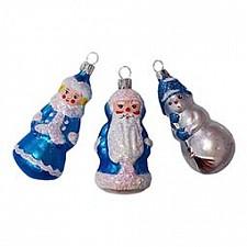 Набор из 3 елочных игрушек (8 см) Сувенир 860-201