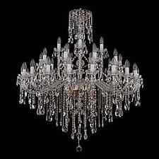 Подвесная люстра Bohemia Ivele Crystal 1415/20_10_5/400/G 1415