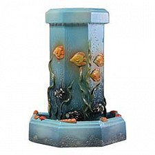 Фонтан настольный interier-ex (31х22х38 см) Подводный мир Ф60