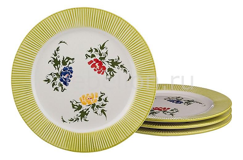 Набор из 4 тарелок плоских 536-091