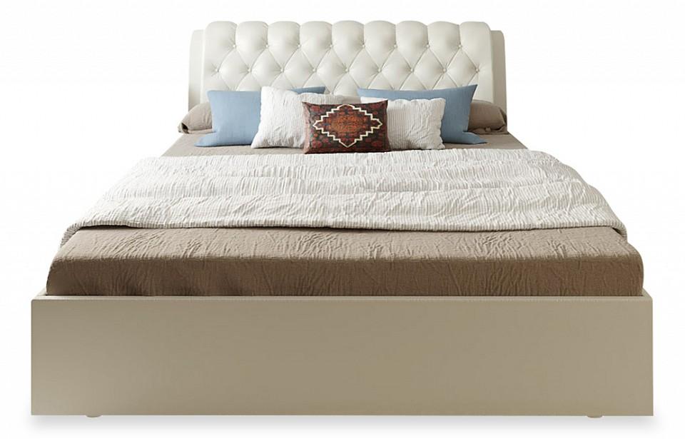 Кровать двуспальная с матрасом и подъемным механизмом Olivia 180-190