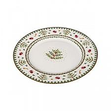 Тарелка плоская (25.9х2.2 см) Christmas collection 586-317