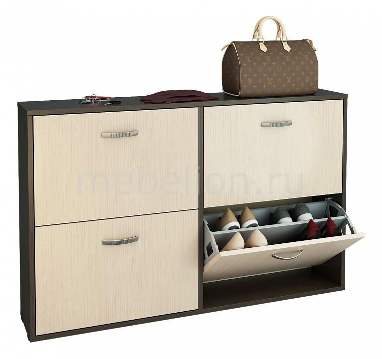 Тумба для обуви МФ Мастер Милан-29 шкаф для обуви мф мастер милан 29 ко 2х2 фо 4 зсо 2х2