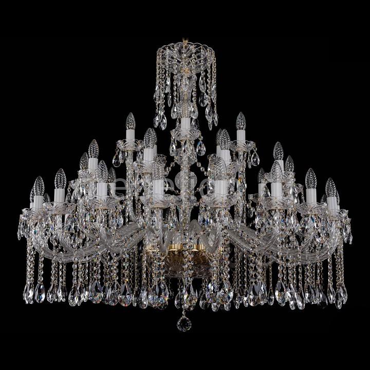 Подвесная люстра Bohemia Ivele Crystal 1413/20_10_5/400/G 1413