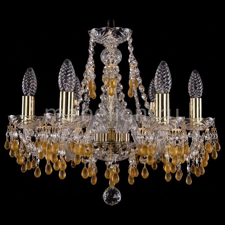 Подвесная люстра Bohemia Ivele Crystal 1410/6/160/G/V1003 1410