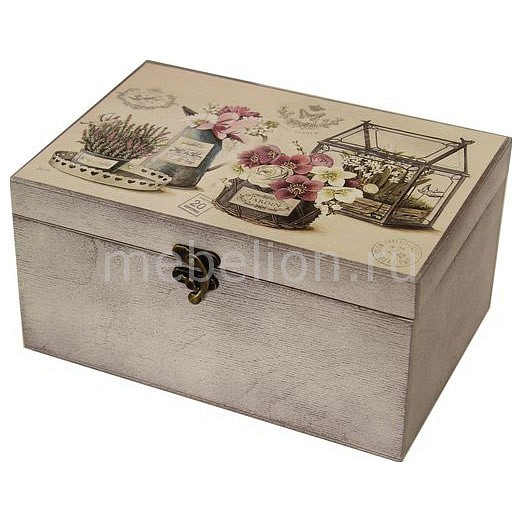 Шкатулка декоративная (26х18х11.5 см) Прованс 1725-27W