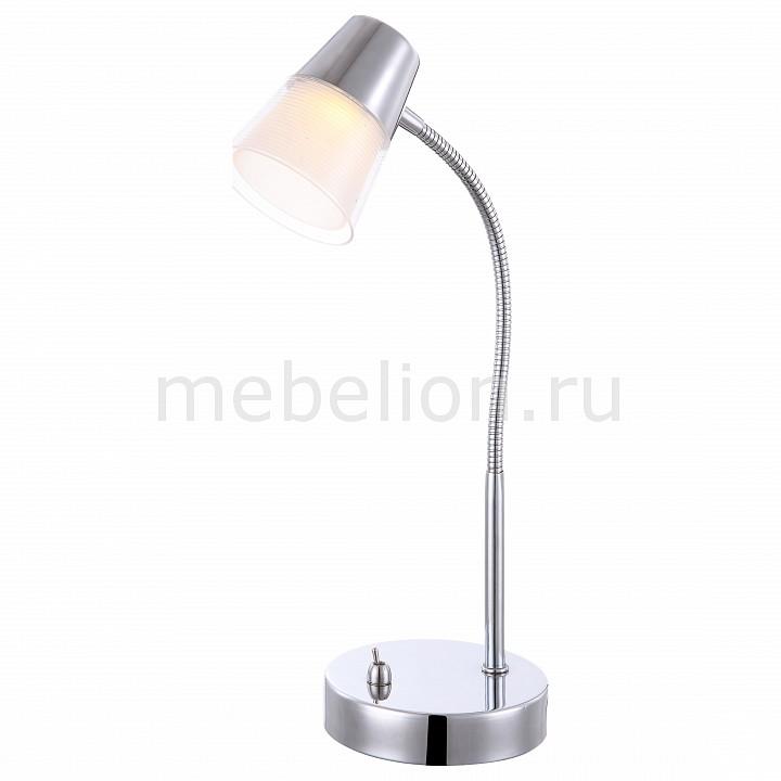 Настольная лампа офисная Globo Teika 56185-1T спот globo teika 56185 4
