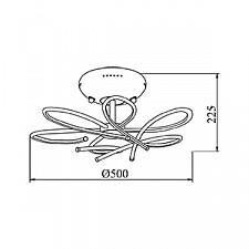 Потолочная люстра Maytoni MOD208-06-N Infinity