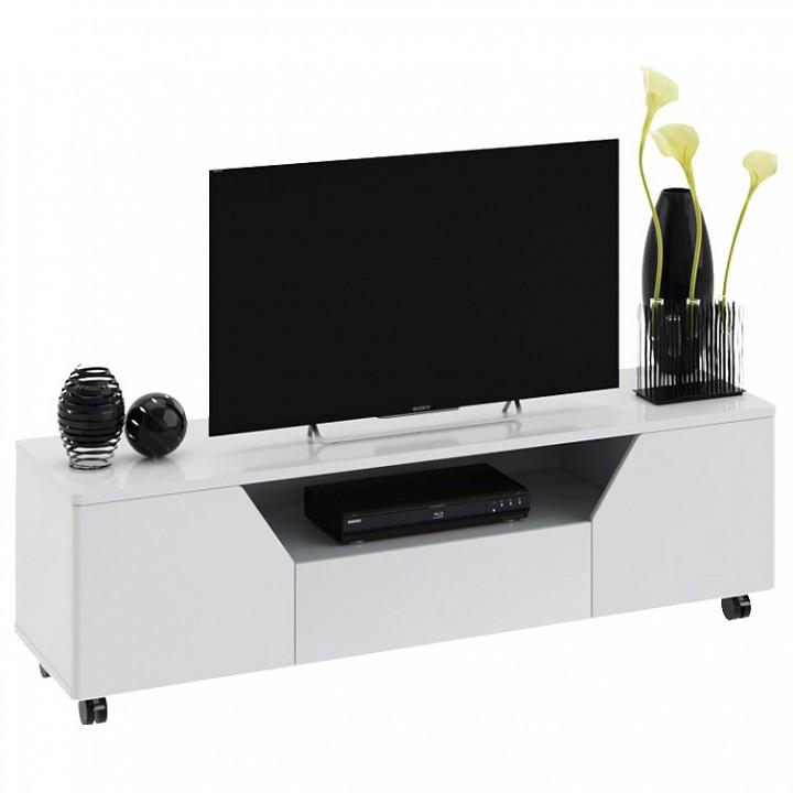 Тумба под ТВ Мебель Трия Diamond тип 4 мебель малайзии тумба 4339 th цвет белый