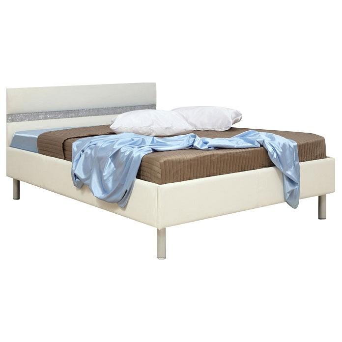 Кровать полутораспальная Олимп-мебель Плаза 1400 континенталь плаза бич шарм эль шейх тур